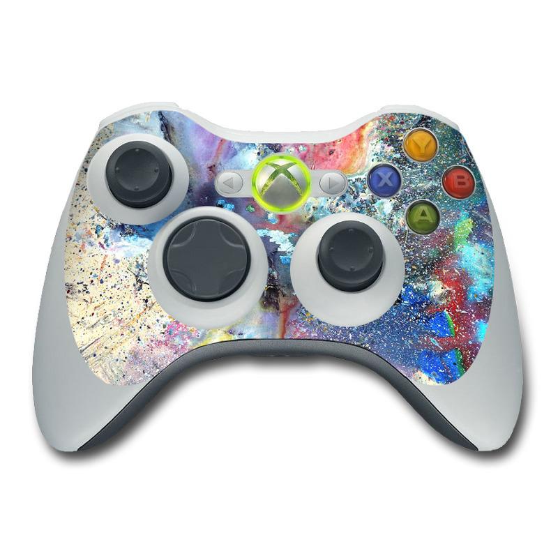 Cosmic Flower Xbox 360 Controller Skin