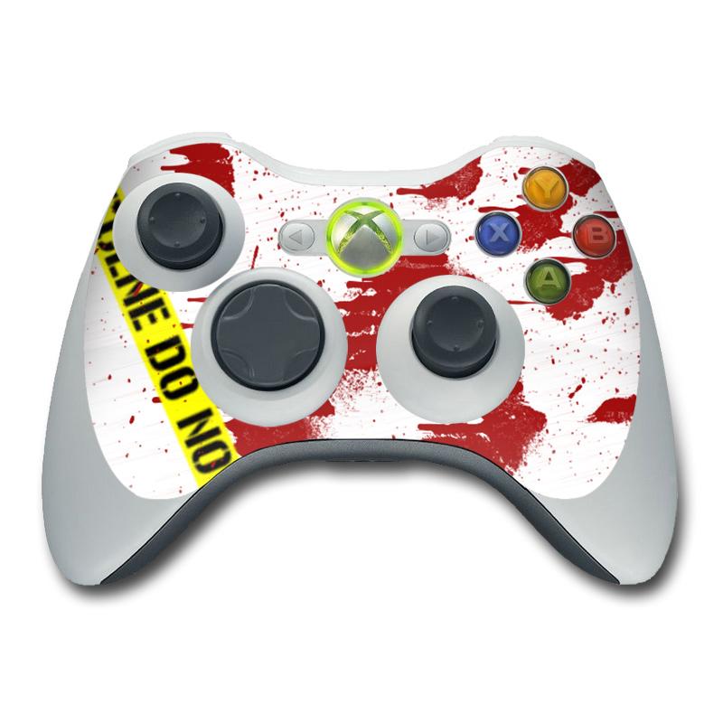 Crime Scene Revisited Xbox 360 Controller Skin