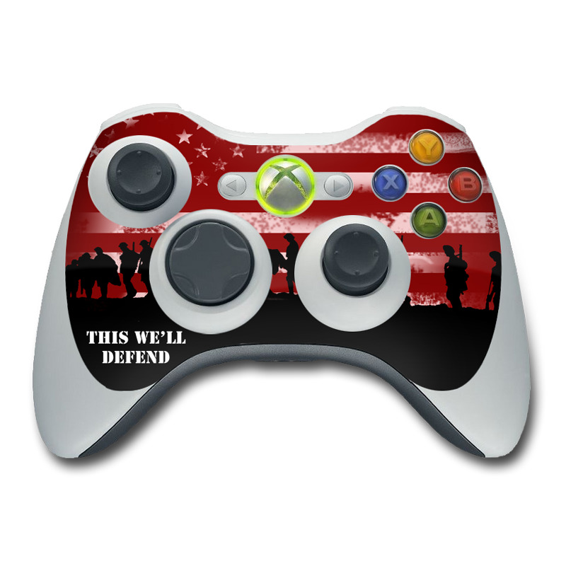 Defend  Xbox 360 Controller Skin