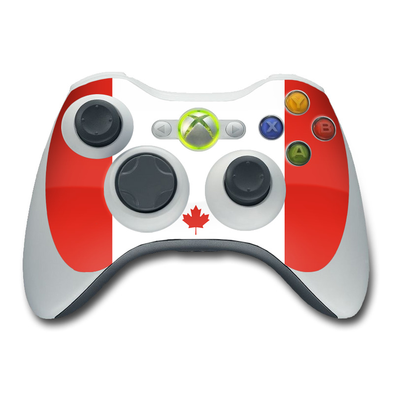 Canadian Flag Xbox 360 Controller Skin