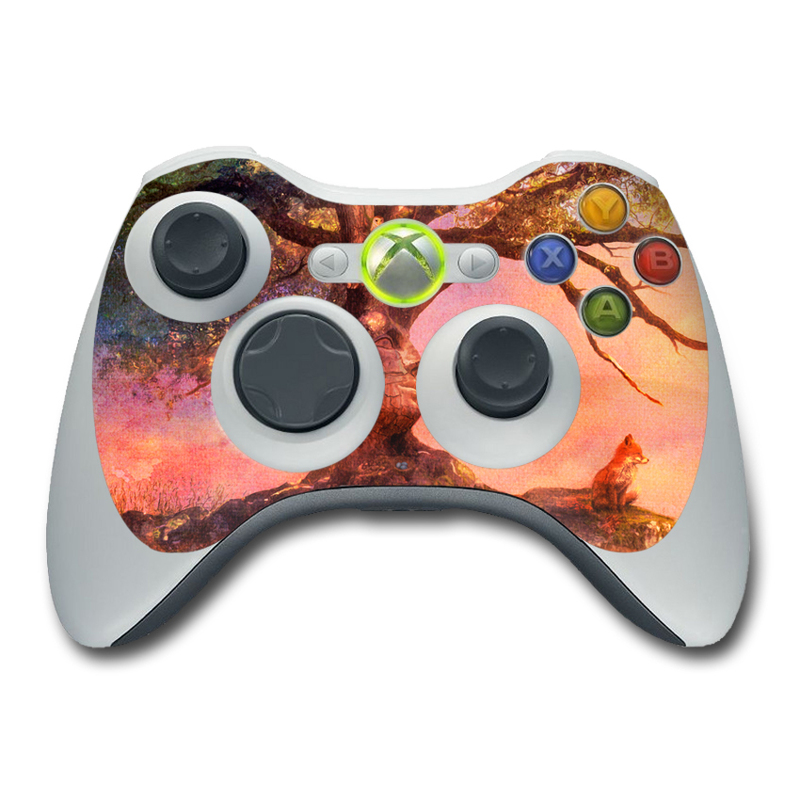 Fox Sunset Xbox 360 Controller Skin