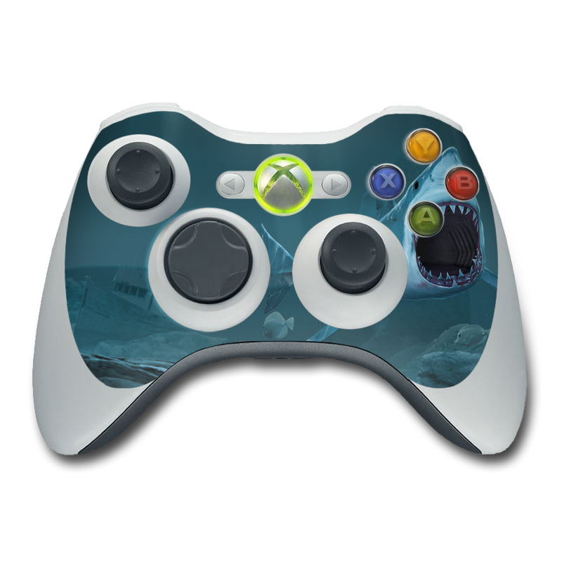 Great White Xbox 360 Controller Skin