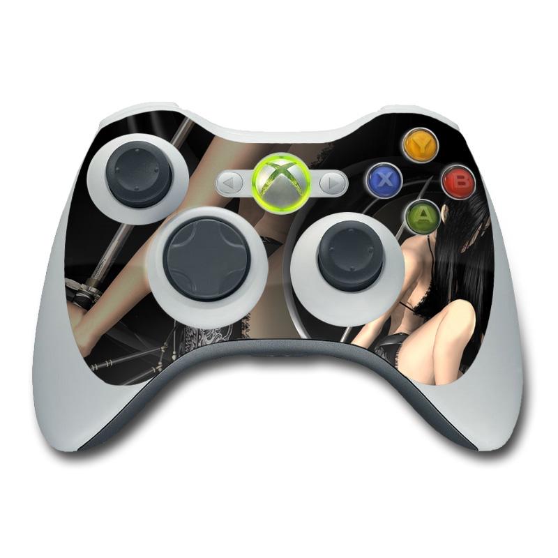 Josei 2 Dark Xbox 360 Controller Skin