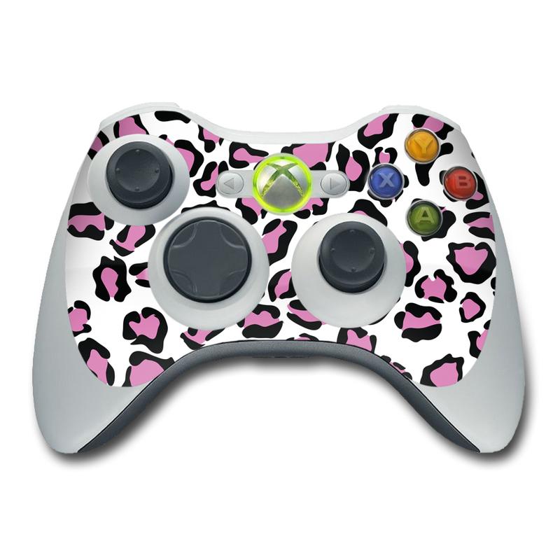 Leopard Love Xbox 360 Controller Skin