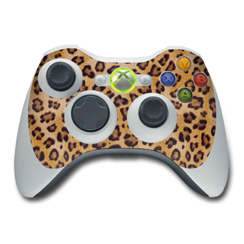 Leopard Print Xbox 360 Controller Skin