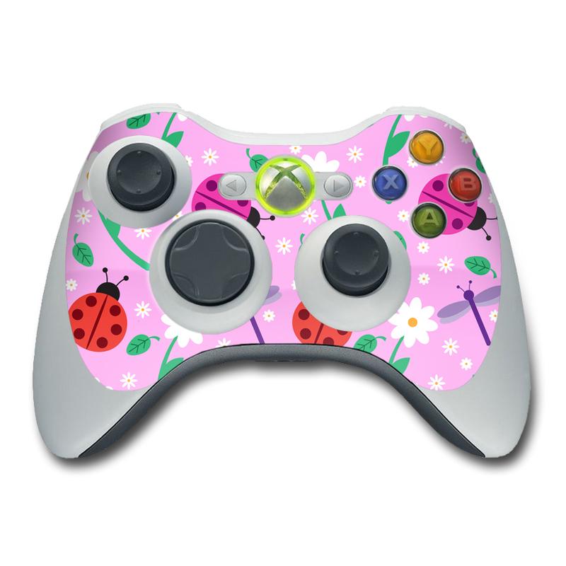 Ladybug Land Xbox 360 Controller Skin