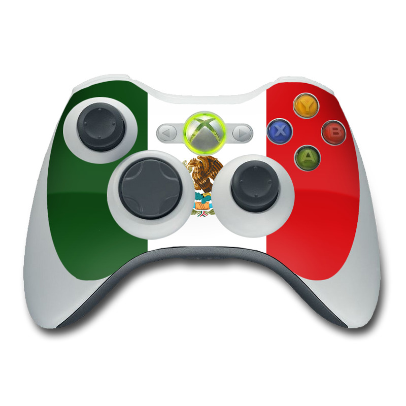 Mexican Flag Xbox 360 Controller Skin | iStyles