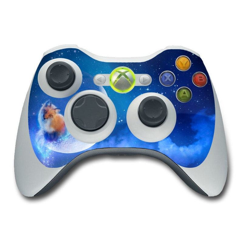 Moon Fox Xbox 360 Controller Skin