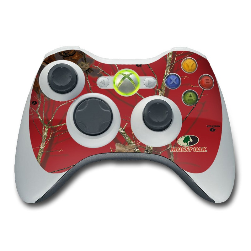 Break-Up Lifestyles Red Oak Xbox 360 Controller Skin