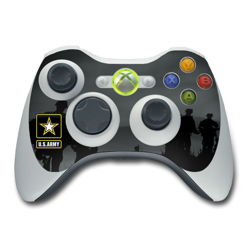 Night Action Xbox 360 Controller Skin