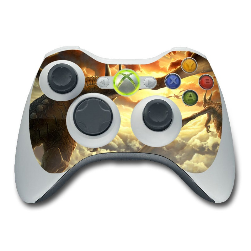 Over the Clouds Xbox 360 Controller Skin