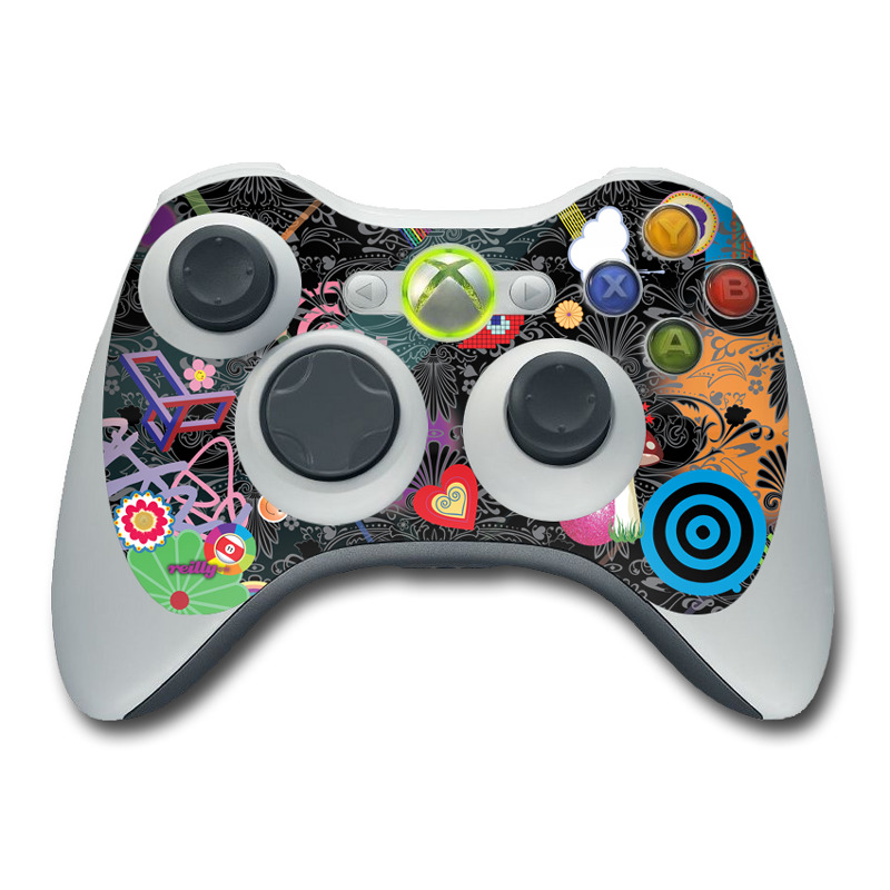 Play Time Xbox 360 Controller Skin