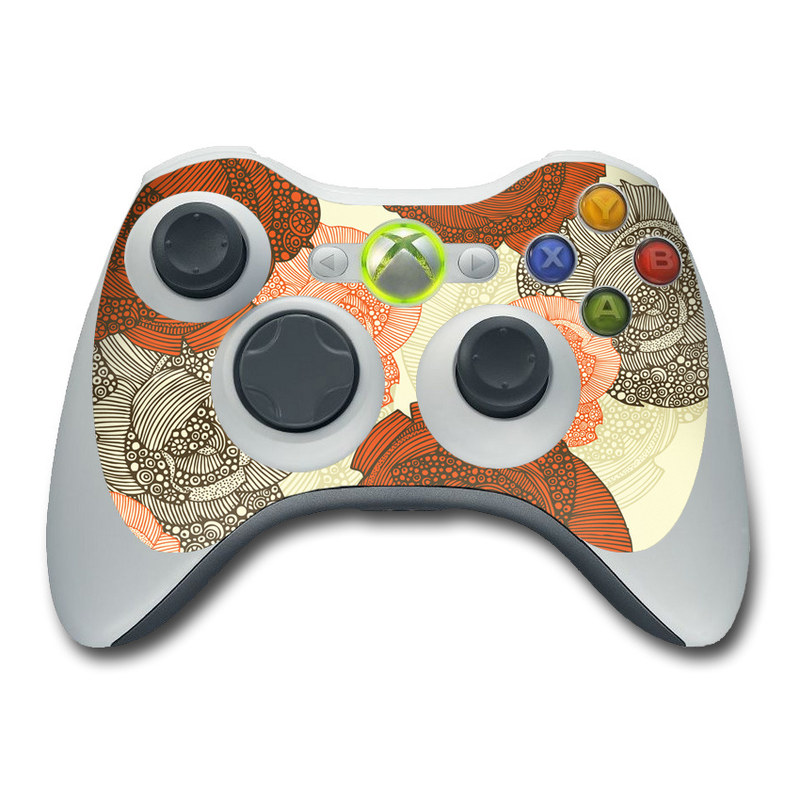 Roses Xbox 360 Controller Skin