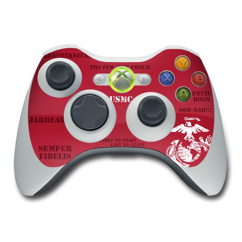 Semper Fi Xbox 360 Controller Skin