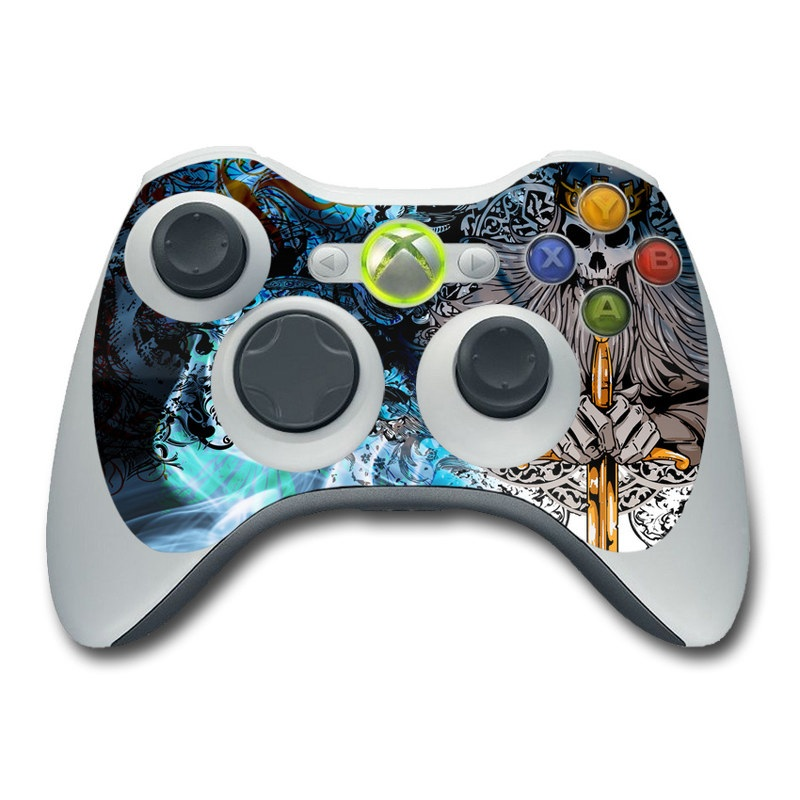 Skeleton King Xbox 360 Controller Skin