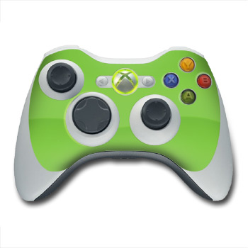Solid State Lime Xbox 360 Controller Skin
