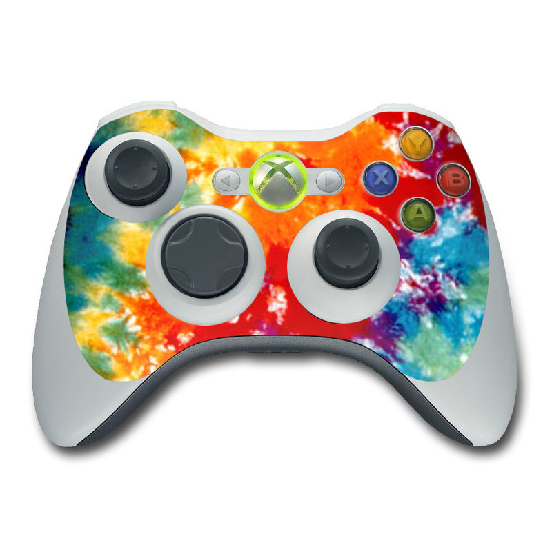 Tie Dyed Xbox 360 Controller Skin | iStyles Xbox 360 Controller Designs