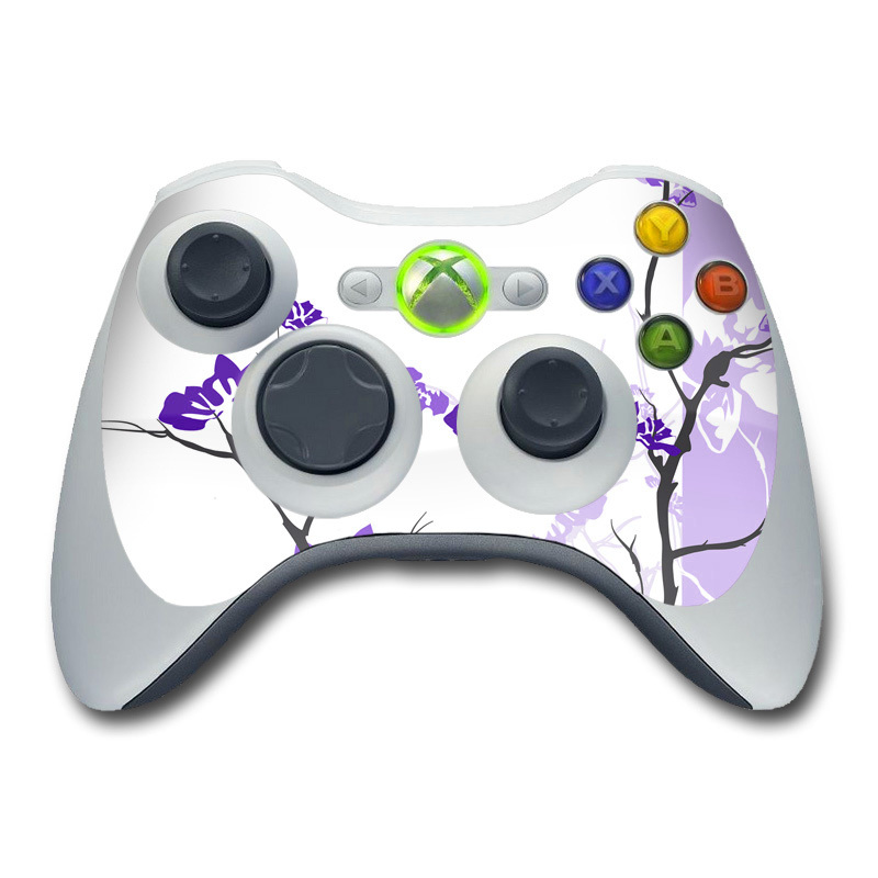 Violet Tranquility Xbox 360 Controller Skin