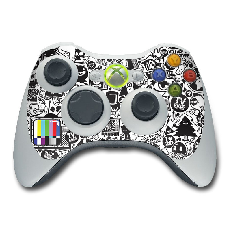 TV Kills Everything Xbox 360 Controller Skin