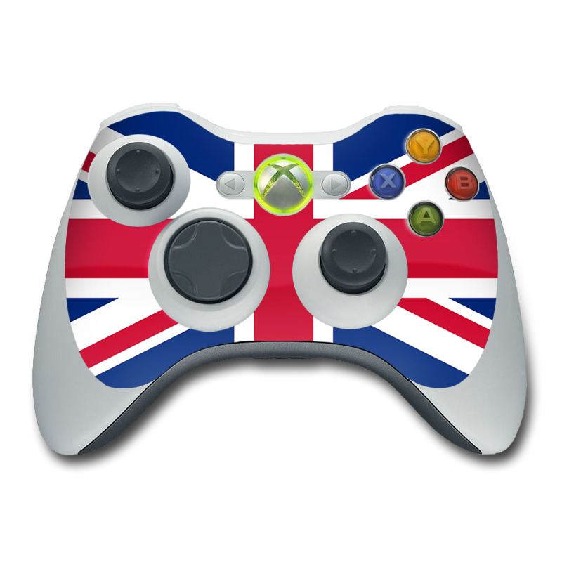 Union Jack Xbox 360 Controller Skin
