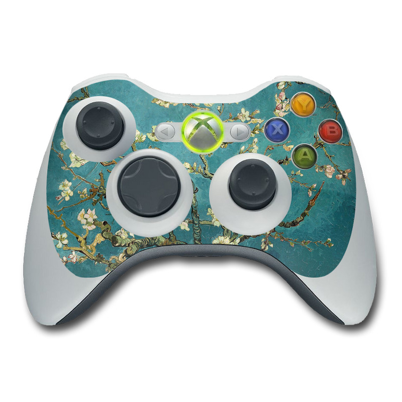 Blossoming Almond Tree Xbox 360 Controller Skin