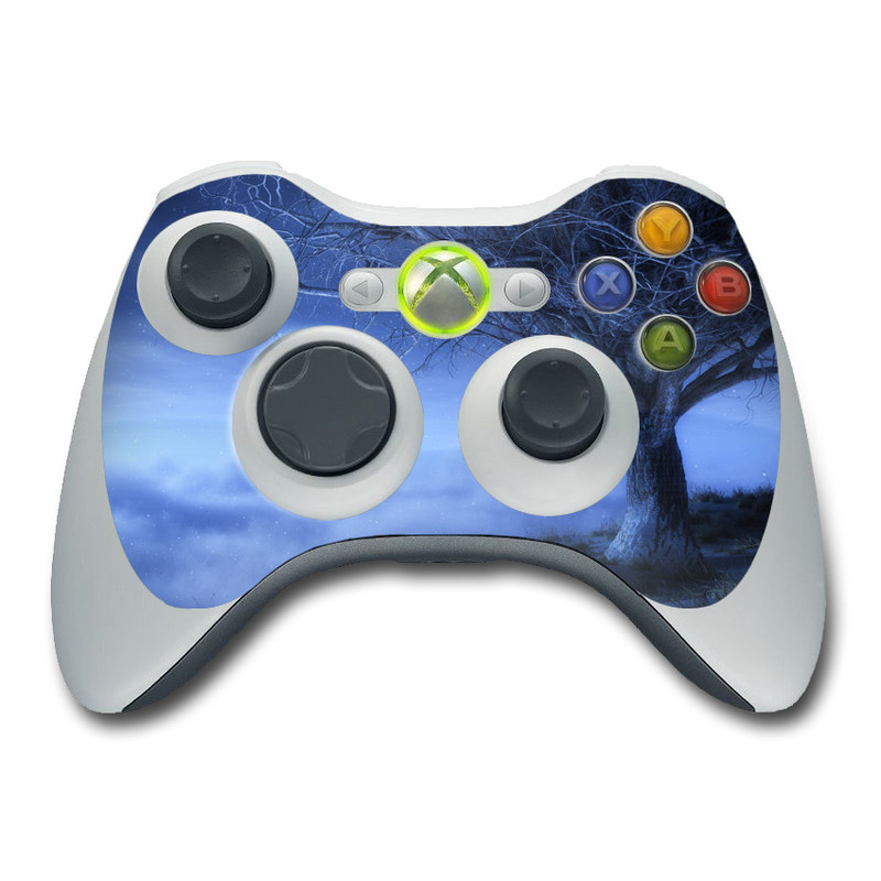World's Edge Winter Xbox 360 Controller Skin