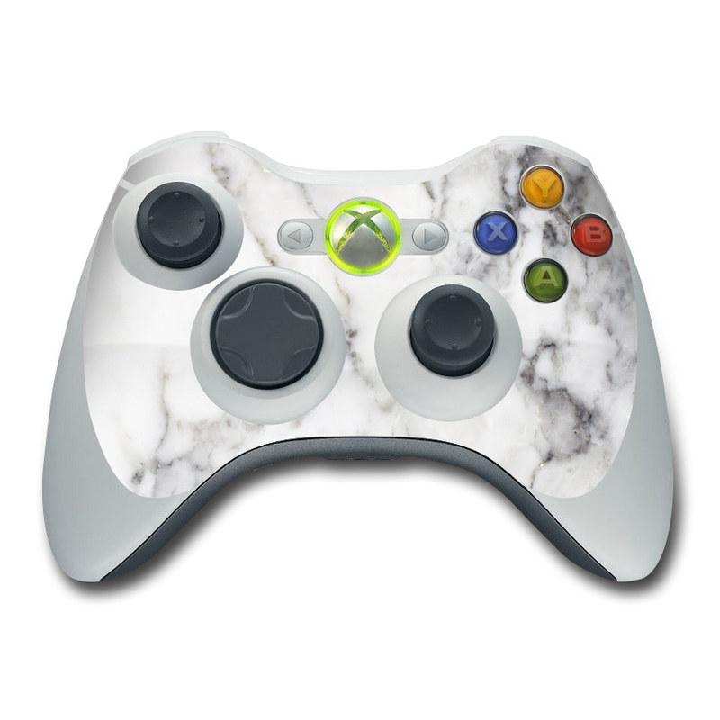 White Marble Xbox 360 Controller Skin