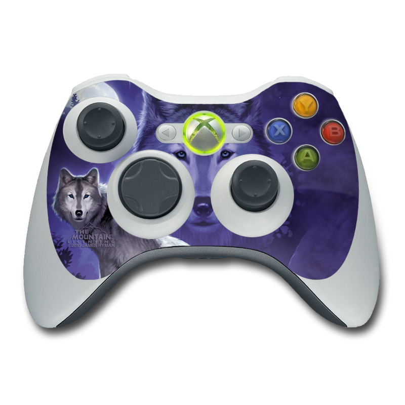 Wolf Xbox 360 Controller Skin