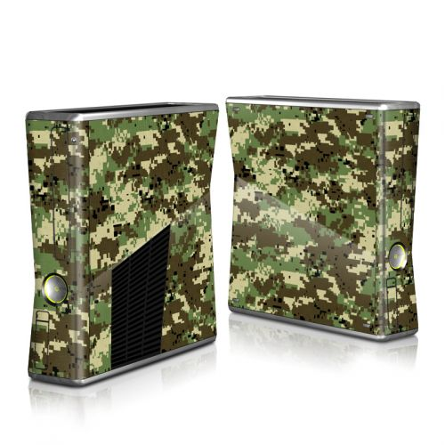 Digital Woodland Camo Xbox 360 S Skin