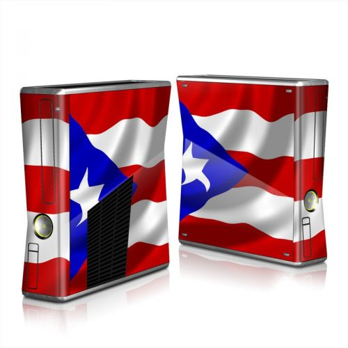 Puerto Rican Flag Xbox 360 S Skin
