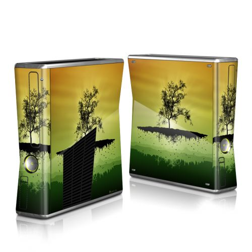 Flying Tree Amber Xbox 360 S Skin