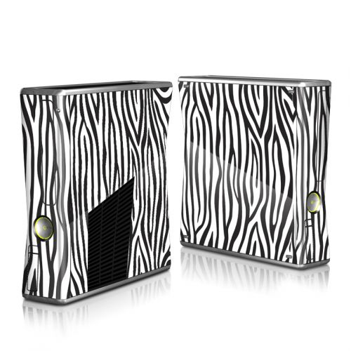Zebra Stripes Xbox 360 S Skin