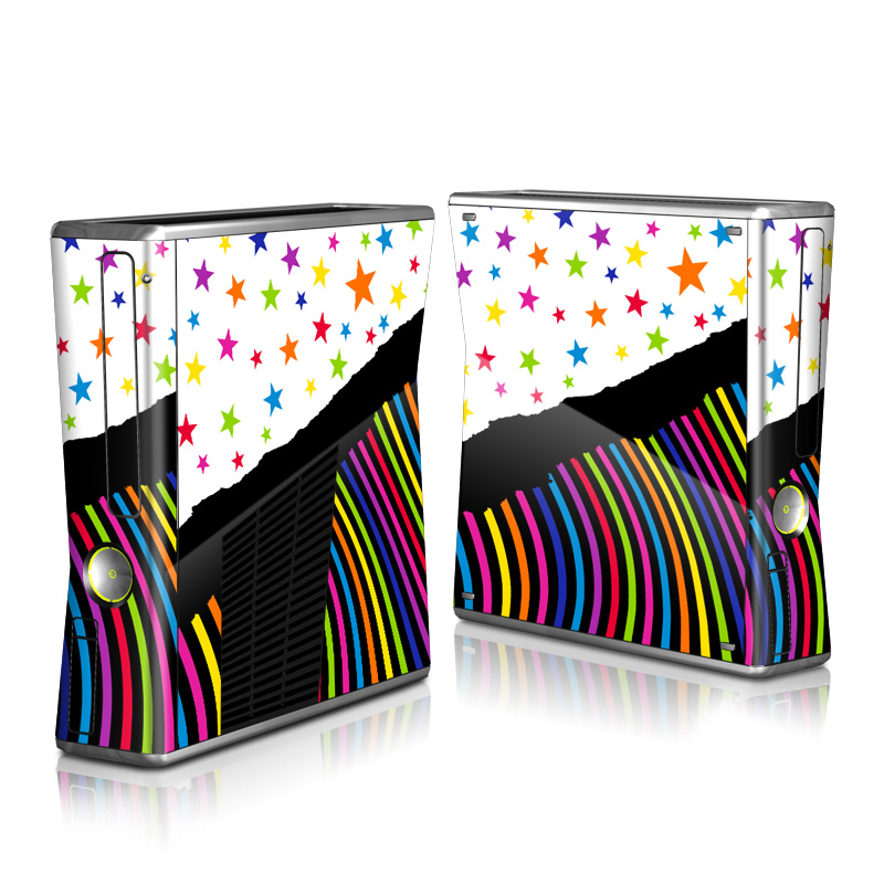 Color Wave Xbox 360 S Skin