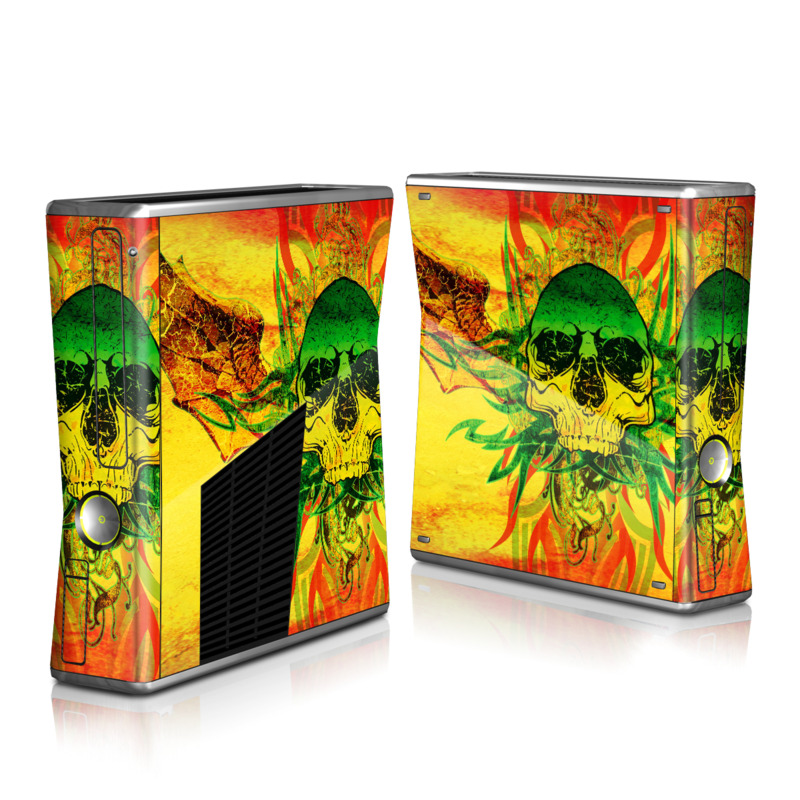 Hot Tribal Skull Xbox 360 S Skin
