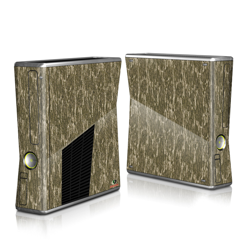 Xbox 360 S Skin design of Grass, Brown, Grass family, Plant, Soil with black, red, gray colors