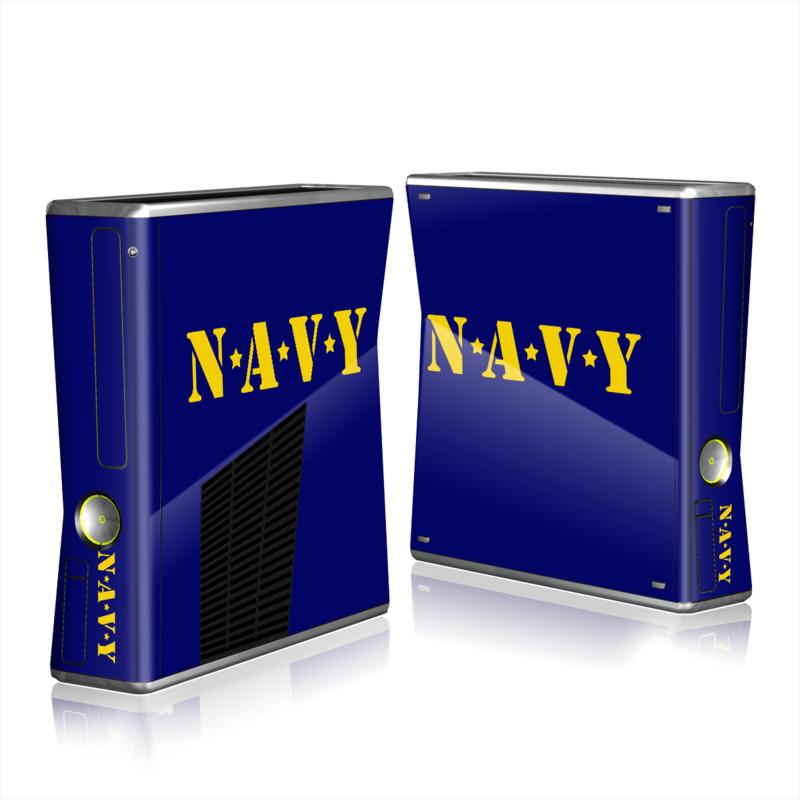 Navy Xbox 360 S Skin
