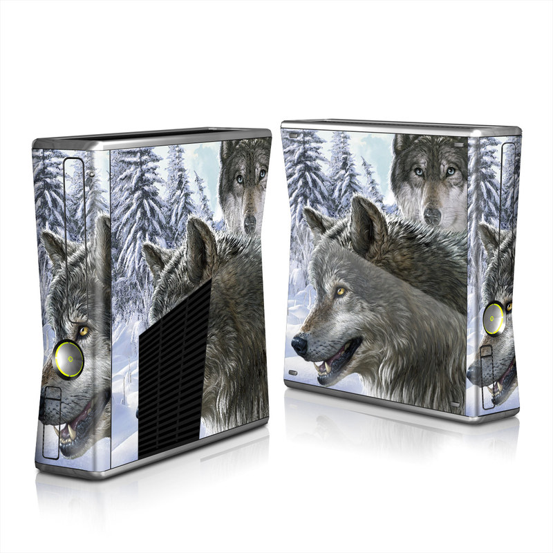 Snow Wolves Xbox 360 S Skin