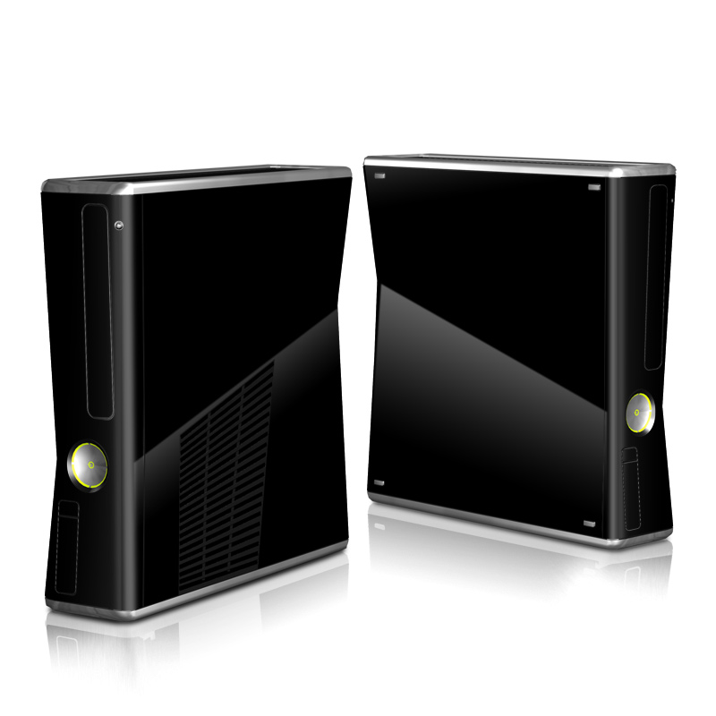 Xbox 360 S Skin design of Black, Darkness, White, Sky, Light, Red, Text, Brown, Font, Atmosphere with black colors
