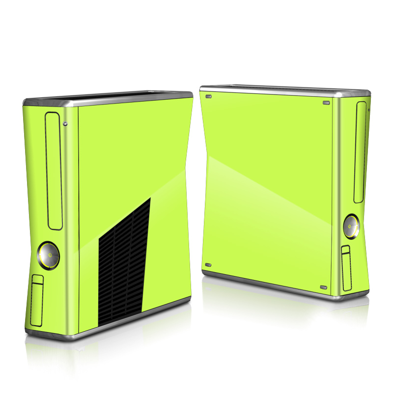 Solid State Lime Xbox 360 S Skin
