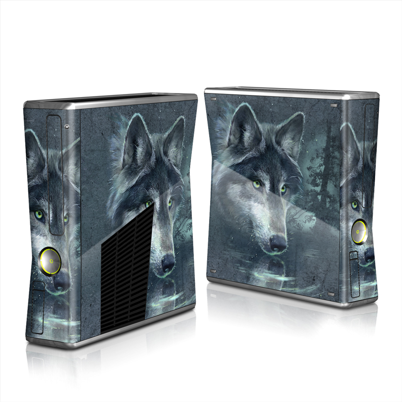 Wolf Reflection Xbox 360 S Skin