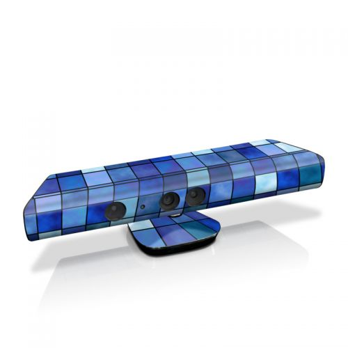 Blue Mosaic Kinect for Xbox 360 Skin
