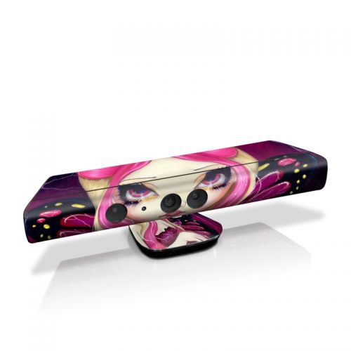 Pink Lightning Kinect for Xbox 360 Skin