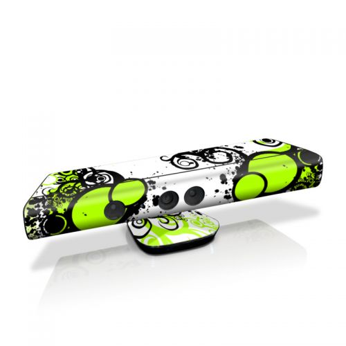 Simply Green Kinect for Xbox 360 Skin