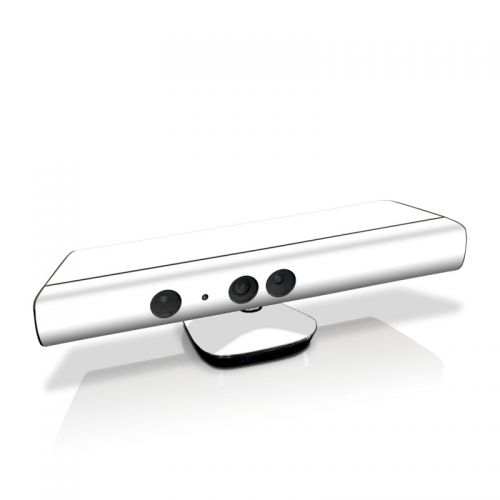 Solid State White Kinect for Xbox 360 Skin