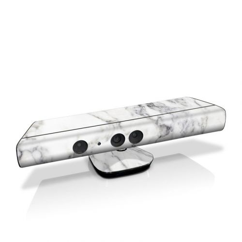 White Marble Kinect for Xbox 360 Skin