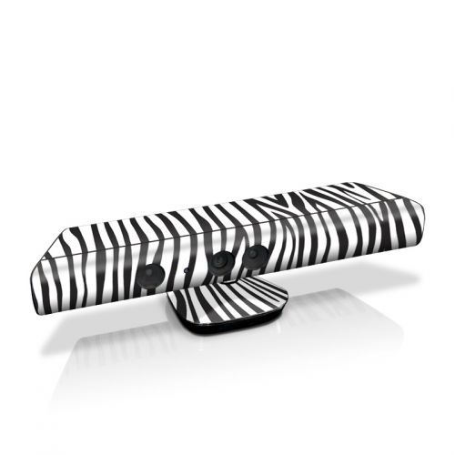 Zebra Stripes Kinect for Xbox 360 Skin