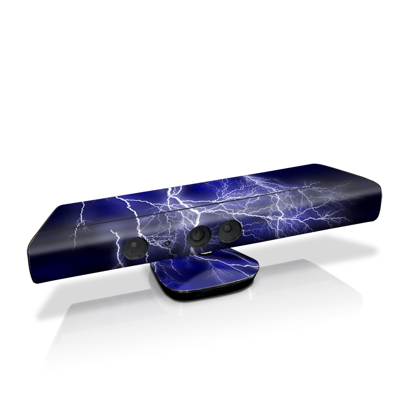 Apocalypse Blue Kinect for Xbox 360 Skin