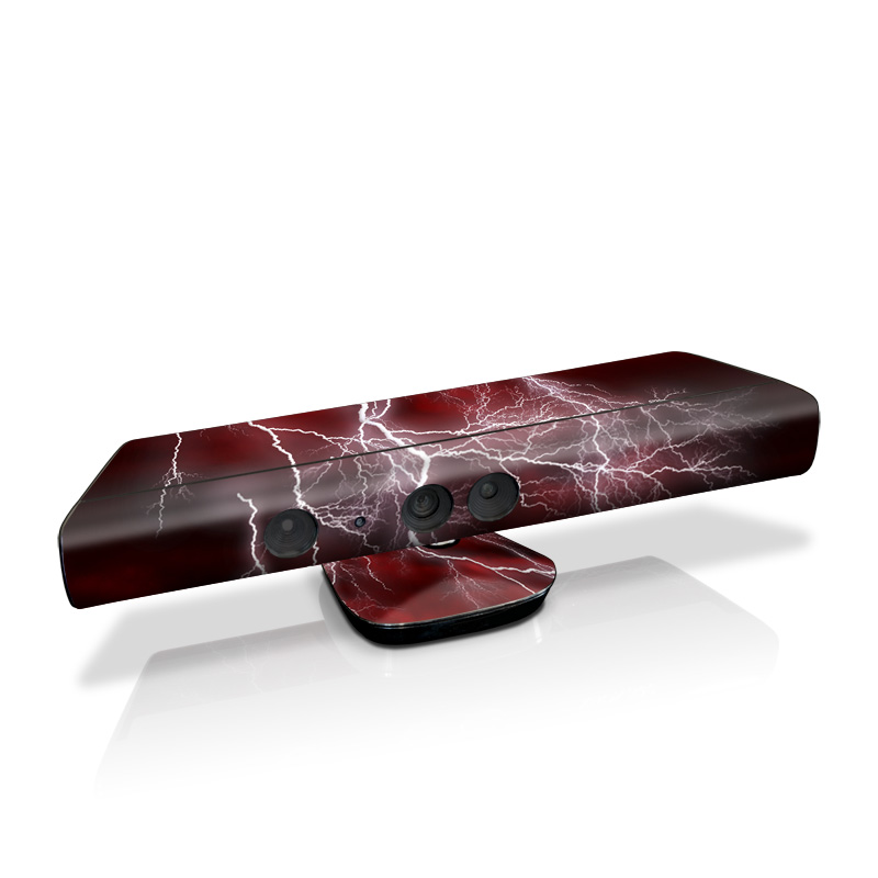 Apocalypse Red Kinect for Xbox 360 Skin
