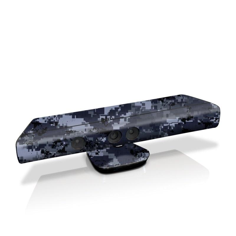 Digital Navy Camo Kinect for Xbox 360 Skin
