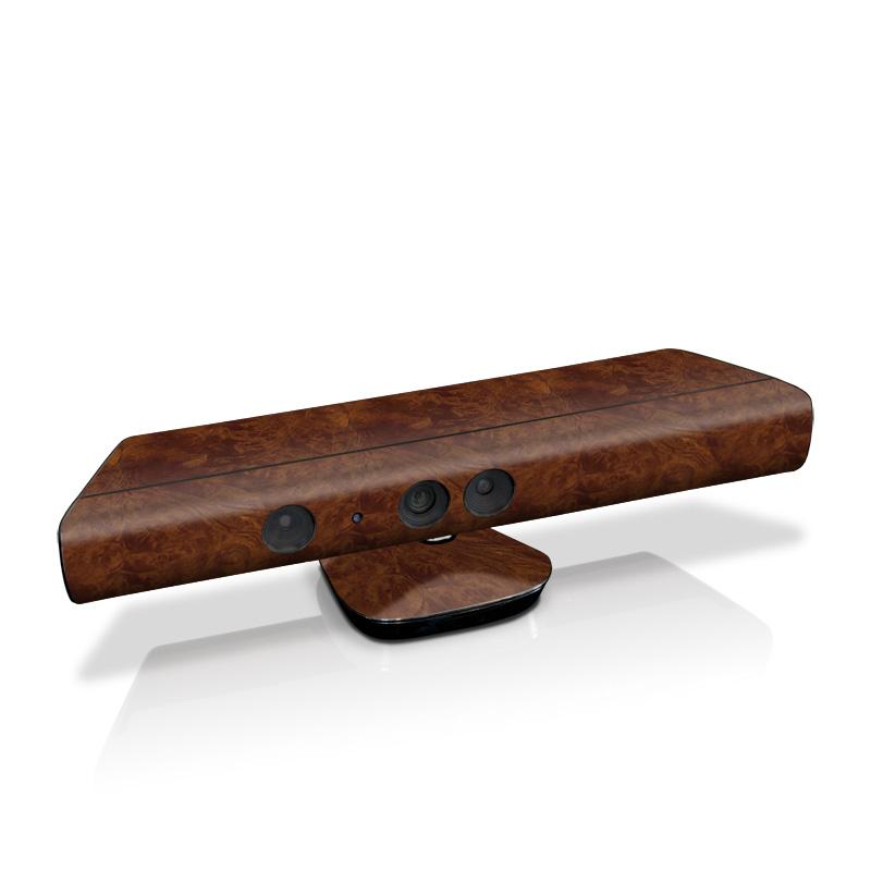 Xbox 360 Kinect Skin design of Brown, Wood, Wood flooring, Caramel color, Pattern, Hardwood, Wood stain, Flooring, Floor, Plywood with brown colors